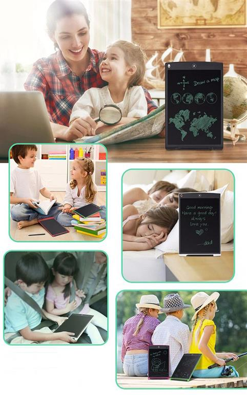 LCD Writing Tablet with Stylus Pen - 3