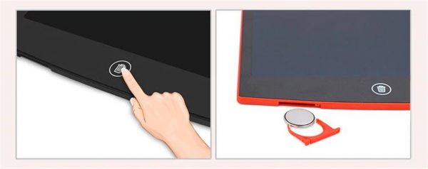 LCD Writing Tablet with Stylus Pen - 4