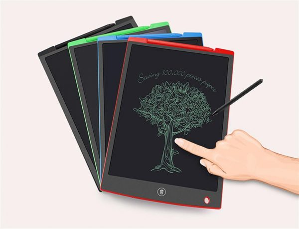 LCD Writing Tablet with Stylus Pen - Colours