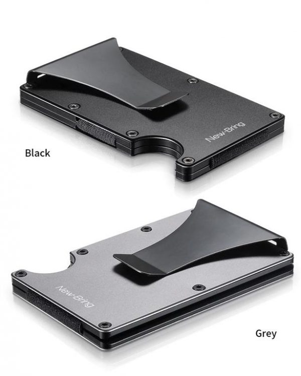 Metal Credit Card With Money Clip - Options