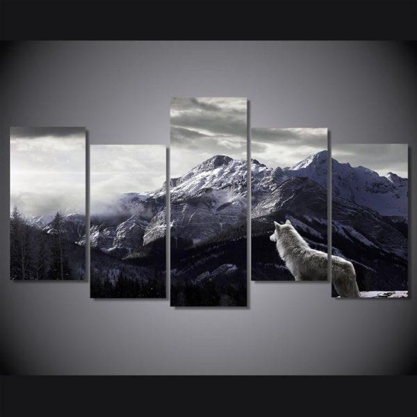 Canvas-Wall-Art-Nordic-Mountain-Landscape-1