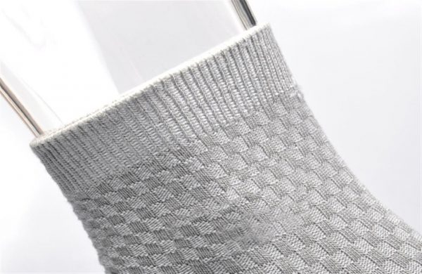 Men's Breathable Bamboo Fiber Business Socks - 5 pairs - Top