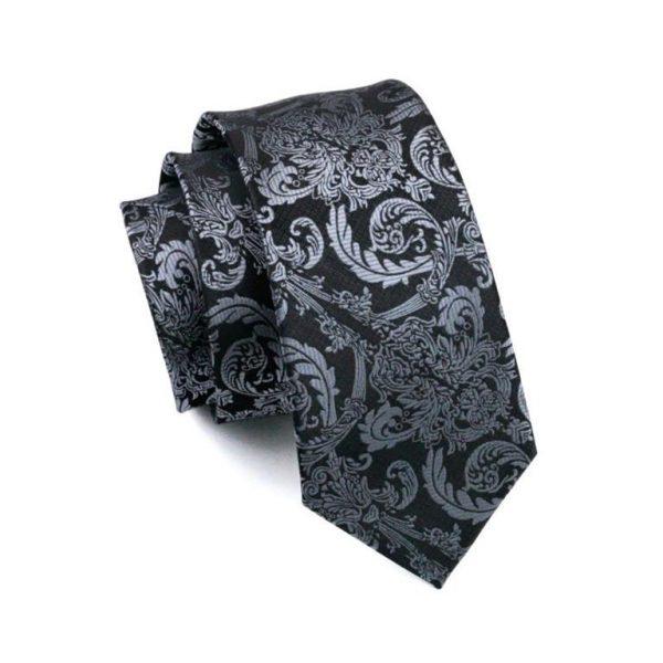 Men's Formal Tie, Hanky and Cufflink Set - 4