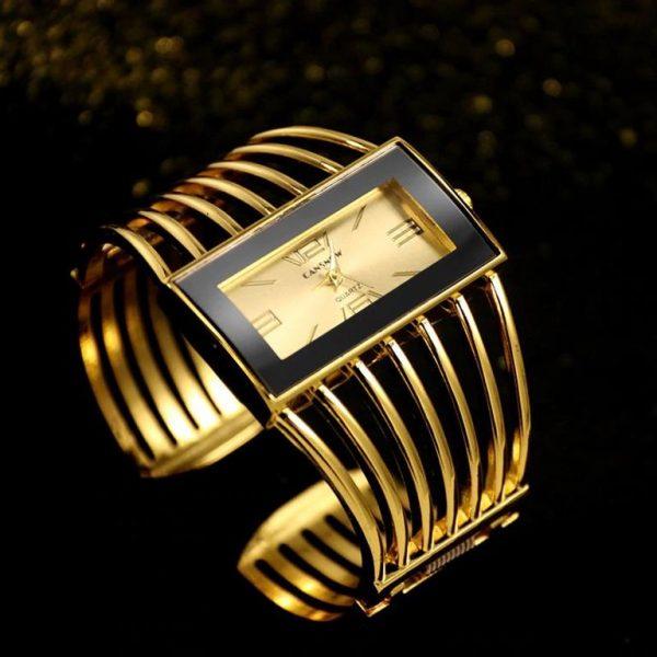 Rhinestone Bracelet Watch For Women - 3