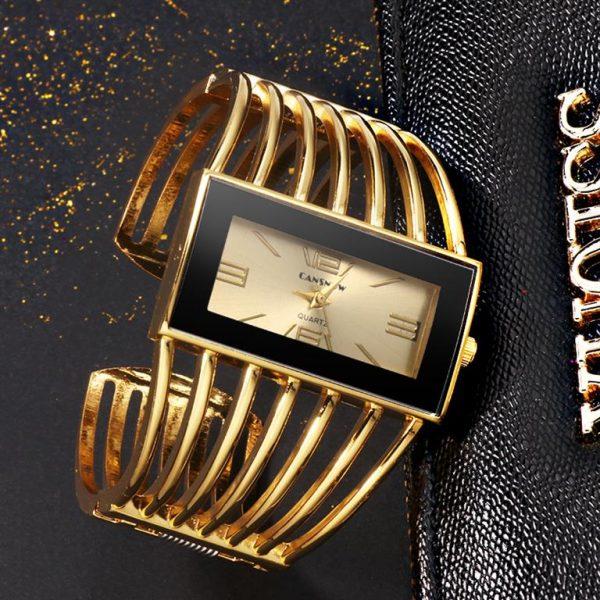 Rhinestone Bracelet Watch For Women - 6