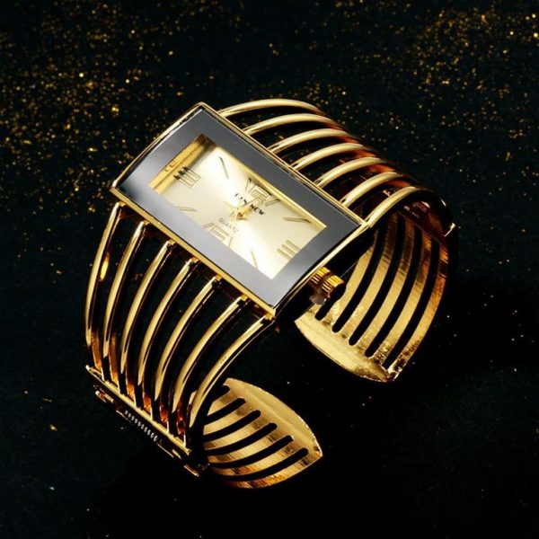 Rhinestone Bracelet Watch For Women - 7