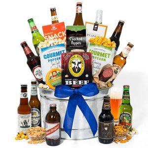 Twelve-Beer-Bucket-Gift-Basket