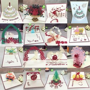 3D Pop Up Cards For All Occasions