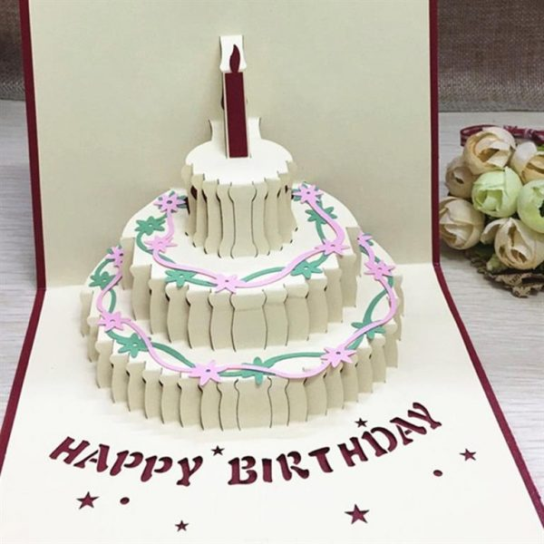 3D Pop Up Cards For All Occasions - GD0001