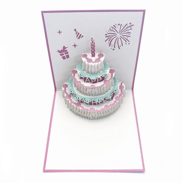3D Pop Up Cards For All Occasions - GD0009