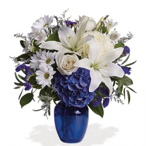 Beautiful in Blue Flower Delivery