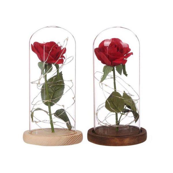 Enchanting LED Rose Flower - Colours
