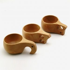 Handmade Nordic Style Wooden Cups