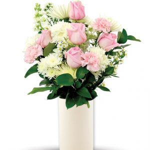 Treasured Moments - Pink & White Flower Delivery