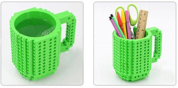 Creative Build On Brick Mug - Multifuntion