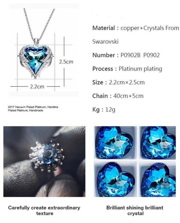 Crystal-Angel-Wings-Pendant - Specification