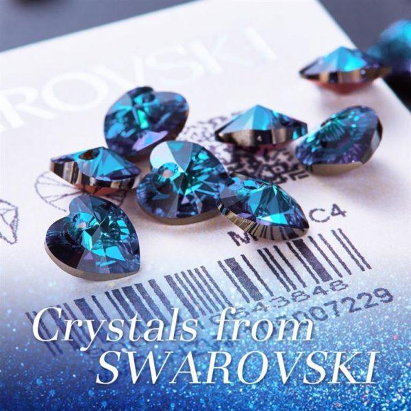 Crystal Angel Wings Pendant-Swarovski