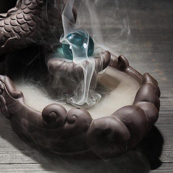 Dragon Backflow Incense Burner - 2