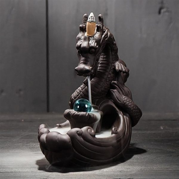 Dragon Backflow Incense Burner - 3