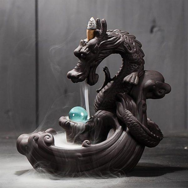 Dragon Backflow Incense Burner