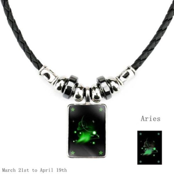 Luminous Zodiac Pendant_Aries