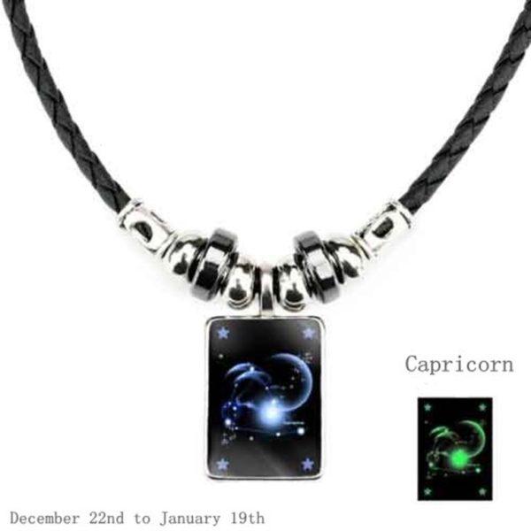 Luminous Zodiac Pendant 1