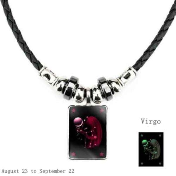Luminous Zodiac Pendant_Virgo