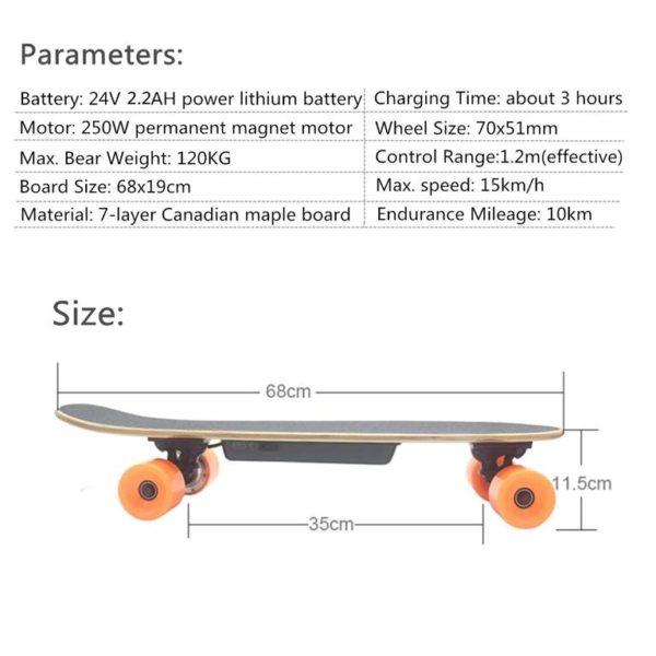 Long Electric Skateboard - 10