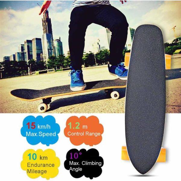 Maple Electric Skateboard 2