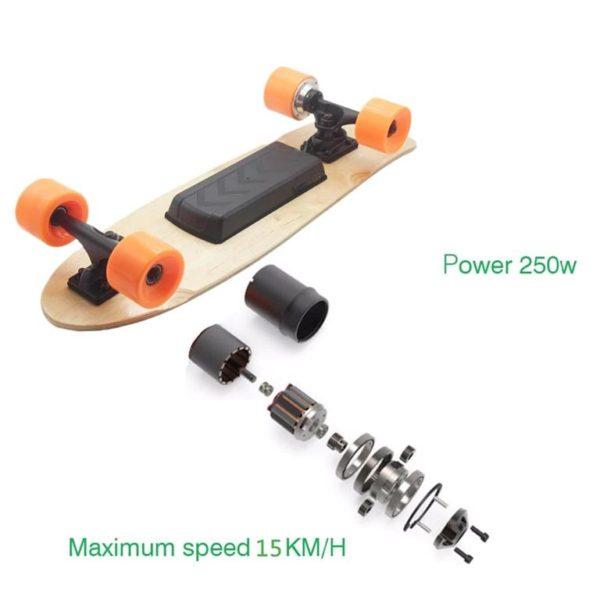 Long Electric Skateboard -8