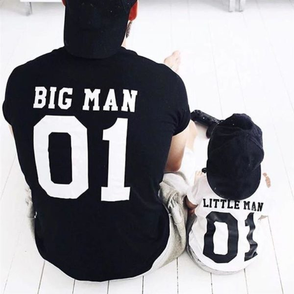 Matching Father And Son T Shirts - 01