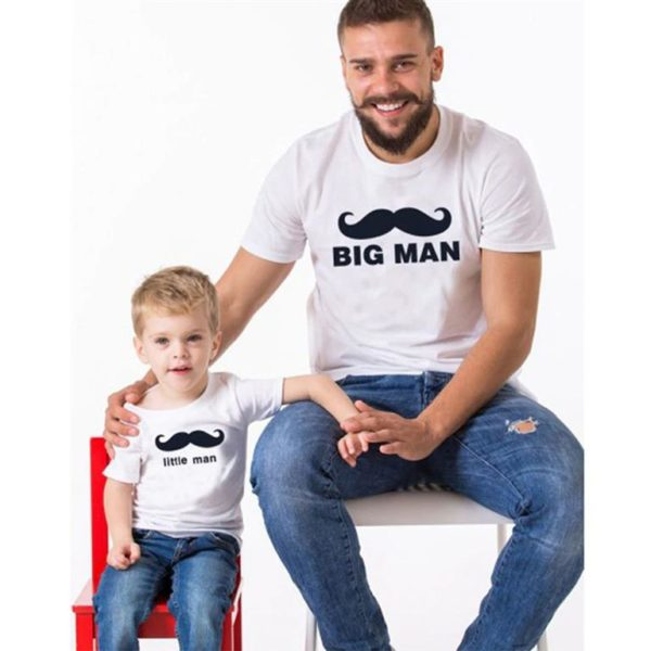 Matching Father And Son T Shirts-Big Man