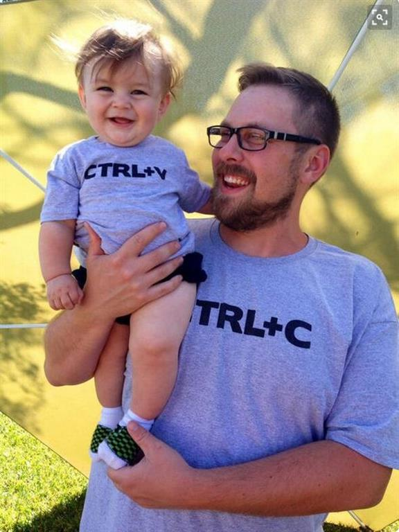 Matching Father And Son T Shirts-CTRLC-CTRLV