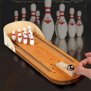 Mini Desktop Bowling Game Set