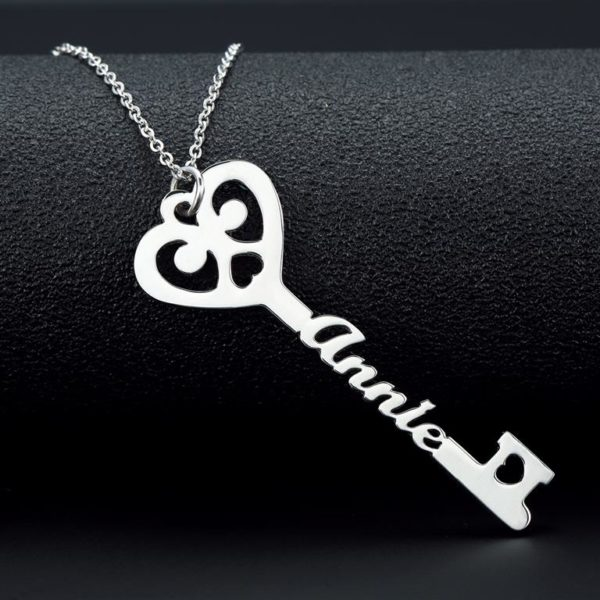 Personalized Key Necklace 2
