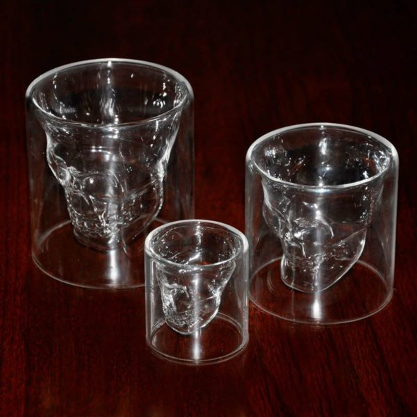 Crystal Skull Glass - Empty