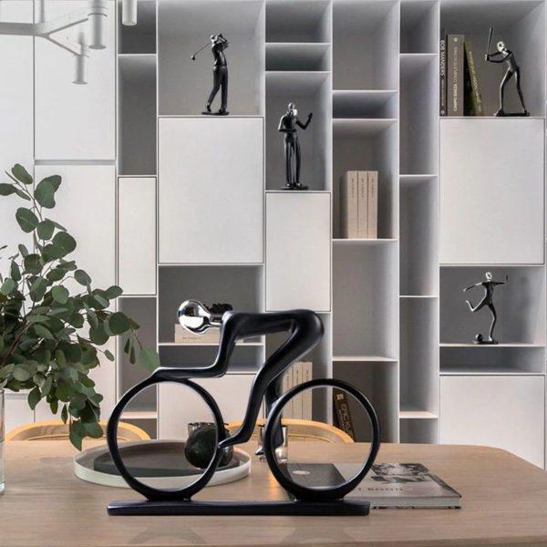 Modern Art Sportsman Figurines - 2