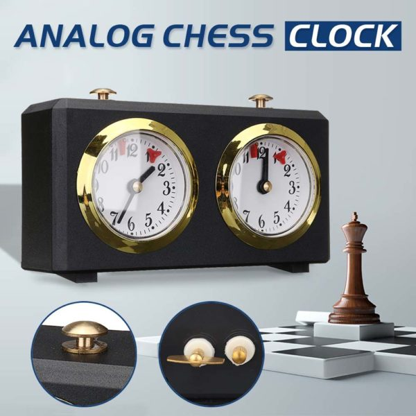 Professional Analog Chess Clock