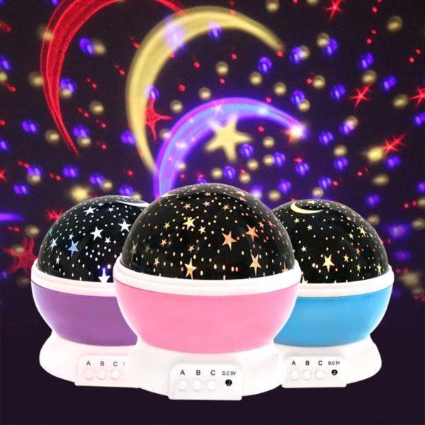 Children's Starry Sky LED Projection Night Light
