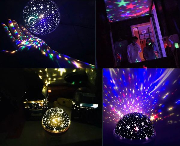Children's Starry Sky LED Projection Night Light - 9