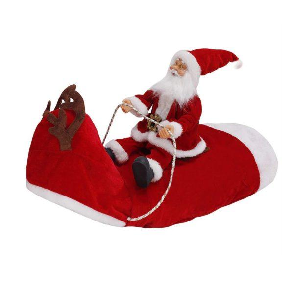 Christmas Costume For Dog - Santa Riding On Dog - 6