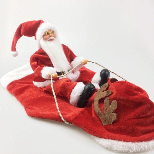 Christmas Costume For Dog - Santa Riding On Dog - 8