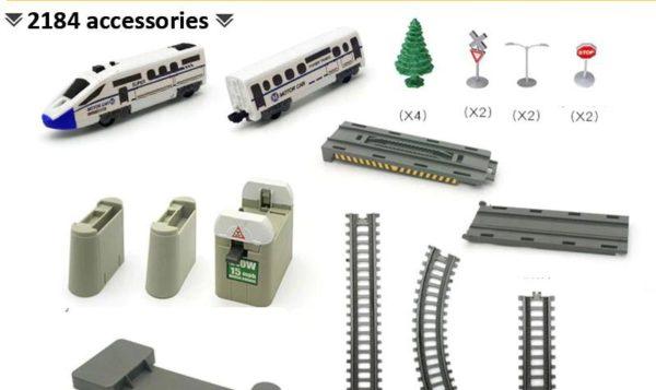 Electric-Train-Set-2184-Parts