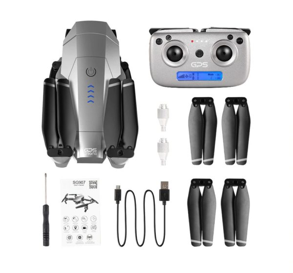 Quadcopter Drone with GPS - 4K HD Camera - Contents