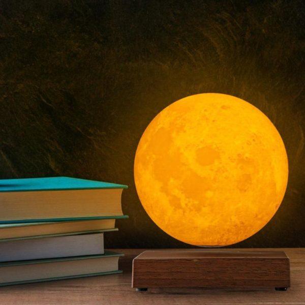 Magnetic Levitating Moon Night Lamp - 5
