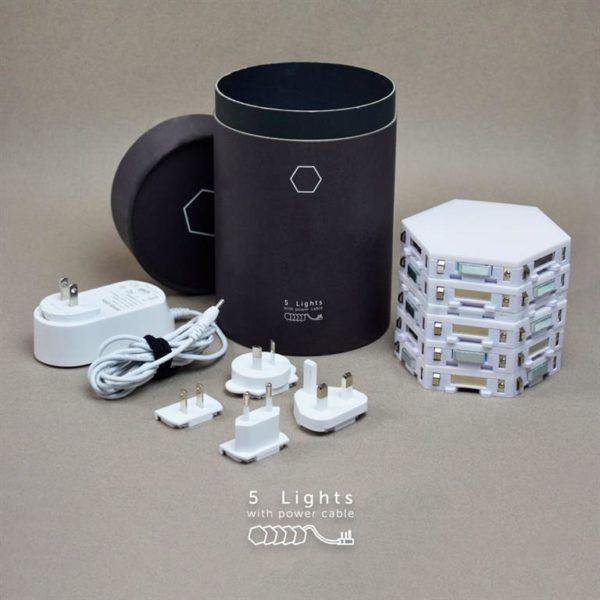Modular Hexagonal Touch Sensitive Lighting System - 11