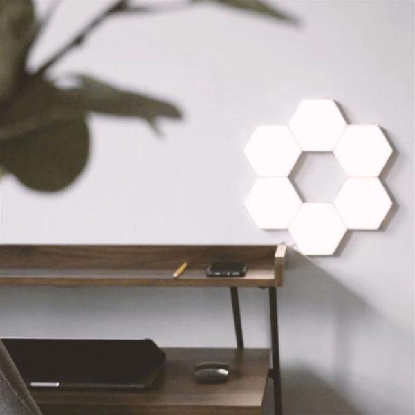 Modular Hexagonal Touch Sensitive Lighting System - 7