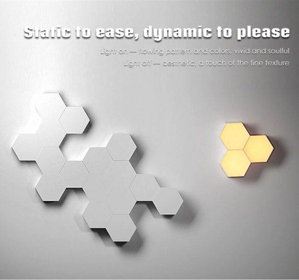 Smart Quantum Lamp – Modular Hexagonal Touch Sensitive Lighting System - 8