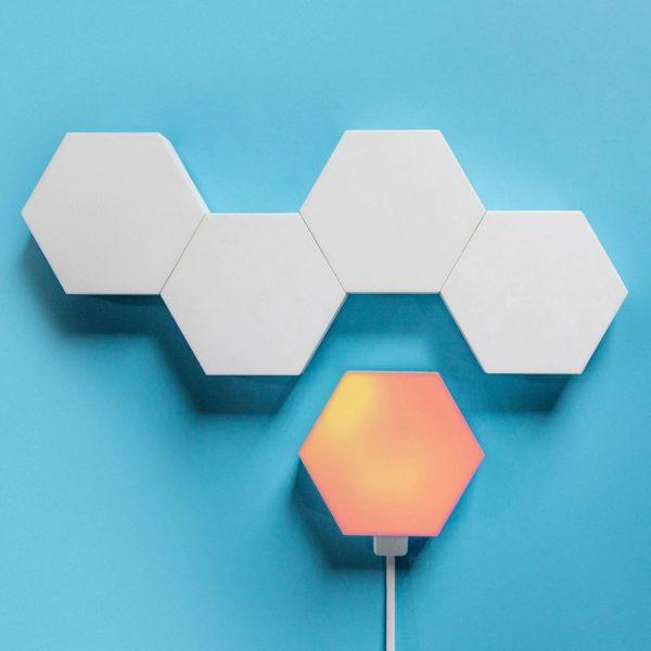 Smart Quantum Lamp – Modular Hexagonal Touch Sensitive Lighting System - 9
