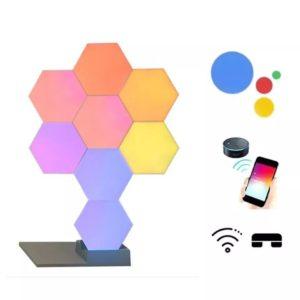 Smart-Quantum-Lamp-Modular-Hexagonal-Touch-Sensitive-Lighting-System